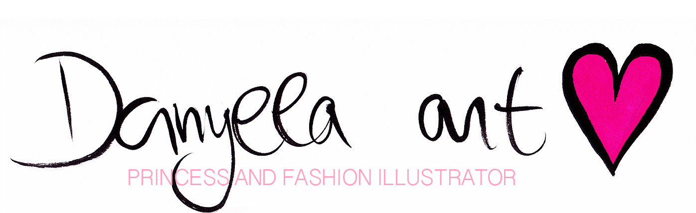 Princess and fashion illustrator